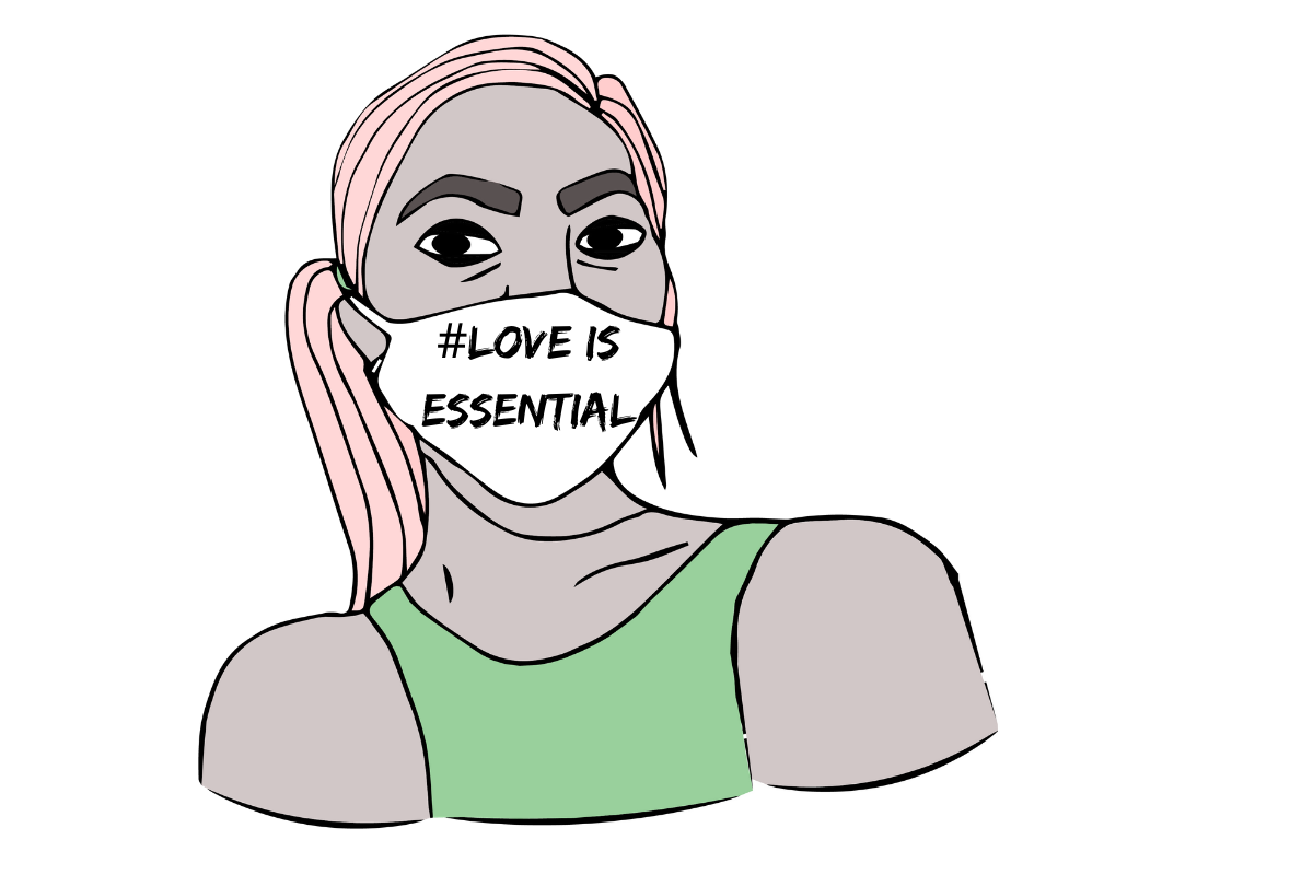 Love is Essential: Protesting for Equality